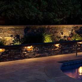 Glastonbury, CT, Wall Accent Lighting, Accent Lighting, Illumascape Lighting