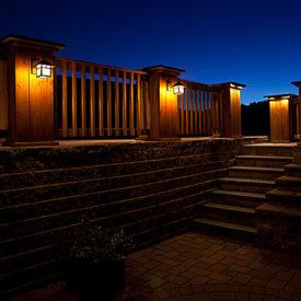 Patio Lighting, Outdoor Lighting, MA, CT, Illumascape Lighting