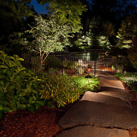 East Windsor Ct, Outdoor Walkway Lighting