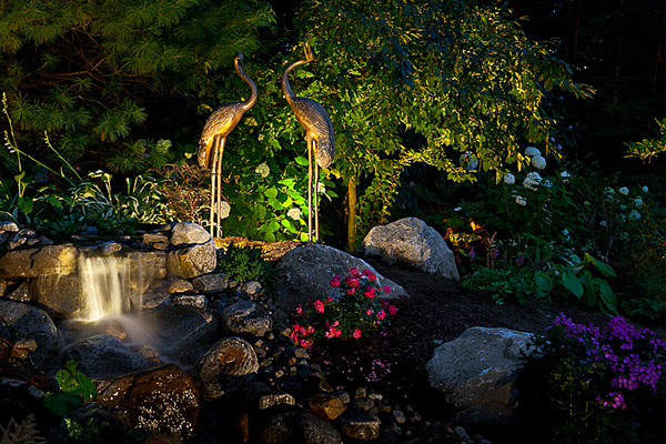 Garden and Visual Art Lighting