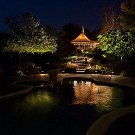 South Hadley, MA, Pool Lighting, Outdoor Lighting, Illumascape Lighting