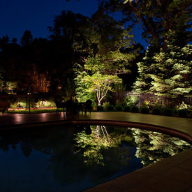 Pool Lighting, Landscape Lighting, Rockland, CT