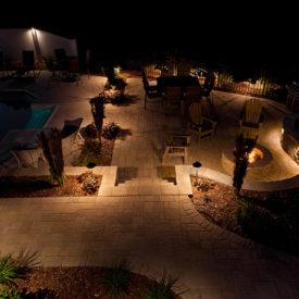 Patio Lighting, Deck Lighting, Granby, MA