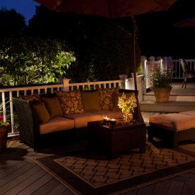 Wilbraham, MA, Patio Lighting, Backyard, Illumascape Lighting