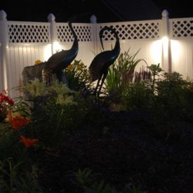 Granby CT, Garden Lighting