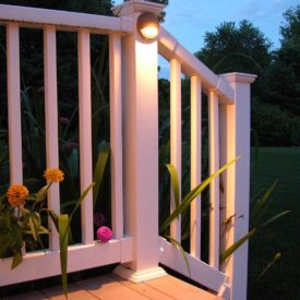 Stairway Lighting, Stockbridge MA, Outdoor Lighting, Landscape Lighting
