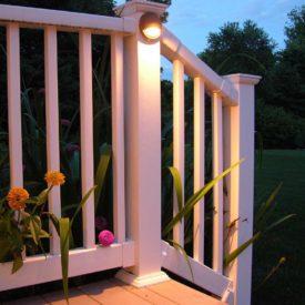 Stairway Lighting, Stockbridge MA, Outdoor Lighting, Landscape Lighting