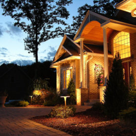 Entrance Lighting, Suffield, CT