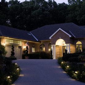 Driveway Lighting, Outdoor Lighting, Westfield, MA