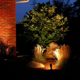 Landscape Lighting, Uplighting, Glastonbury, CT