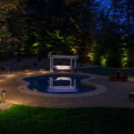 Pool And Backyard Lighting, Sheffield, MA, Illumascape Lighting