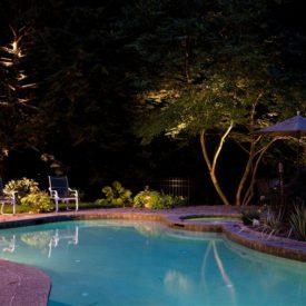 Pool Surround Lighting, Windsor, CT, Outdoor Lighting, Illumascape Lighting
