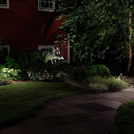Hampden, MA, Walkway Lighting