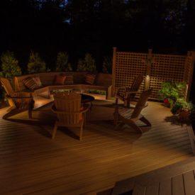 Somers, CT, Deck Lighting, Outdoor Lighting