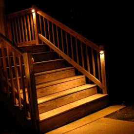 Wilbraham MA, Deck Lighting, Illumascape Lighting