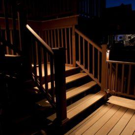 Pittsfield, MA, Illumascape Lighting, Deck Lighting
